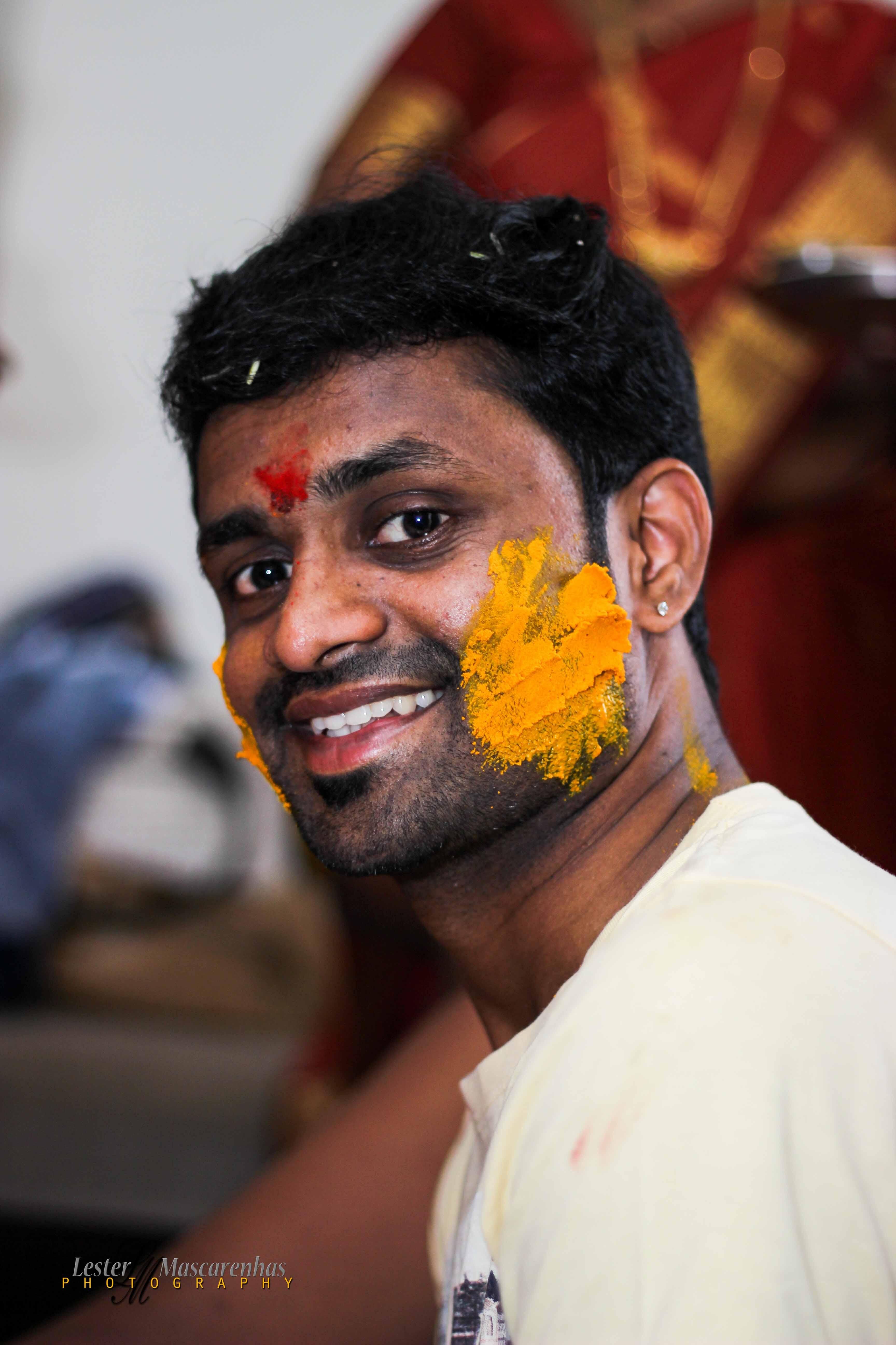 Shripad's Haldi Ceremony